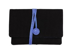 Hyde Park Blue Clutch Carnet de Mode bester Fashion-Online-Shop