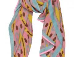 Ikkat Printed Cashmere Pashmina 2 Carnet de Mode bester Fashion-Online-Shop