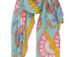 Ikkat Printed Cashmere Pashmina Carnet de Mode bester Fashion-Online-Shop