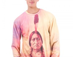 Indian Printed Polyester Sweatshirt - Dream Catcher Carnet de Mode bester Fashion-Online-Shop