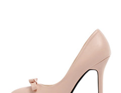 Jollychic Bow Solid Color Stiletto Heel Pumps Jollychic.com bester Fashion-Online-Shop