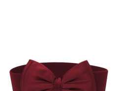 Jollychic Fashion Bow Solid Wide Elastic Belt For Women Jollychic.com bester Fashion-Online-Shop