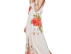Jollychic Floral Slip Long Beach Dress Jollychic.com bester Fashion-Online-Shop