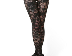 Jollychic Out Wear Sheer Lace Fashion Leggings Black Jollychic.com bester Fashion-Online-Shop