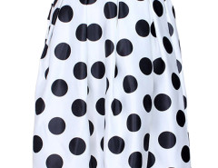 Jollychic Polka Dot High Waist Full Skirt Jollychic.com bester Fashion-Online-Shop