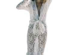 Jollychic Solid Sheer Lace Bikini Cover Up Jollychic.com bester Fashion-Online-Shop