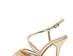 Jollychic Sparkling Peep Toe Hollow Out Summer Sandals Jollychic.com bester Fashion-Online-Shop
