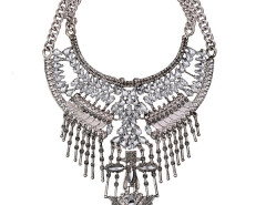 Jollychic Vintage Tassels Gemstones Chunky Necklace Jollychic.com bester Fashion-Online-Shop