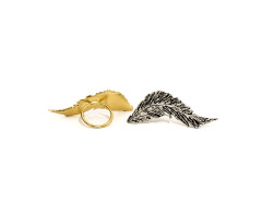 Conjure Feather Ring MrKate.com bester Fashion-Online-Shop aus den USA
