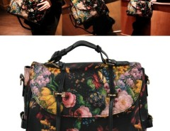 Korea Fashion Women's Girl Painting Pattern Single Shoulder Bag Handbag Cndirect bester Fashion-Online-Shop China