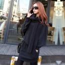 Korea Women Loose Hooded Long Sleeve Pullover Dress Cndirect bester Fashion-Online-Shop China