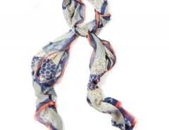 Large scarf - Olympus - Blue Carnet de Mode bester Fashion-Online-Shop