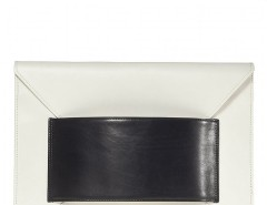 Leather Franco Oversized Envelope Clutch Carnet de Mode bester Fashion-Online-Shop