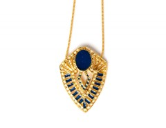 Long necklace - Joséphine B. - night blue Carnet de Mode bester Fashion-Online-Shop