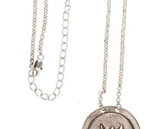 Long necklace - Talisman - silvery Carnet de Mode bester Fashion-Online-Shop