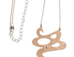 Long necklace - Temptation - rose gold Carnet de Mode bester Fashion-Online-Shop