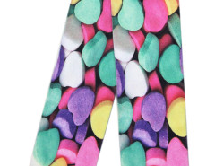 Multicolor 3D Heart-shaped Candy Print Ankle Socks Choies.com bester Fashion-Online-Shop Großbritannien Europa