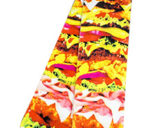 Multicolor 3D Yummy Hamburger Print Ankle Socks Choies.com bester Fashion-Online-Shop Großbritannien Europa