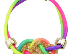 Multicolor Folk Style Twisted Rope Necklace Choies.com bester Fashion-Online-Shop Großbritannien Europa