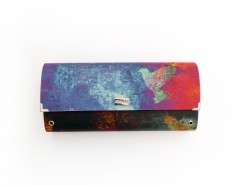 Multicolored Burning Sky Clutch Carnet de Mode bester Fashion-Online-Shop