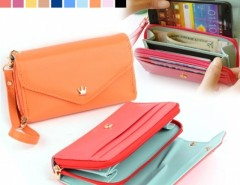 Multifunction Women Wallet Coin Case Purse For iphone/Galaxy iphone 4/5 Cndirect bester Fashion-Online-Shop China