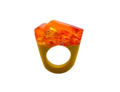 Murano Glass Ring - Hatred Carnet de Mode bester Fashion-Online-Shop