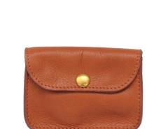 Natural Leather Small Purse Carnet de Mode bester Fashion-Online-Shop