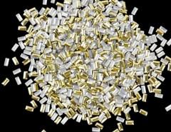 New 1000Pcs Fashion 3D Rectangle Metal Nail Art Decoration Metal Studs Beads Rhinestone 2 Colors Cndirect bester Fashion-Online-Shop China