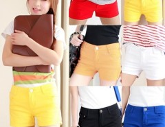 New Fashion Lady's Girls Trendy Colorful Casual Mini Chino Shorts Hot Pants Cndirect bester Fashion-Online-Shop China