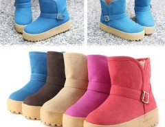 New Fashion Women Winter Short Warm Snow Cold Weather Boots Shoes Cndirect bester Fashion-Online-Shop China
