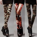 New Fashion Women's Camouflage Print Legging Tight Pants 3 Colors Cndirect bester Fashion-Online-Shop China