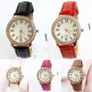 New Top Sale Fashion Women Retro Leather Crystal Vintage Wrist Quartz Watch Ladies Watches Wristwatch Cndirect bester Fashion-Online-Shop China