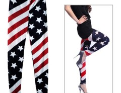 New Womens Stars and Stripes USA Full Length Ladies American Flag Leggings Slim Fit Cndirect bester Fashion-Online-Shop China