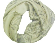 Nostalgia Green Silk Scarf Carnet de Mode bester Fashion-Online-Shop