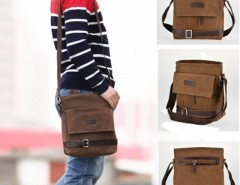 Free Ship in US New Fashion Men Retro Style Hiking Satchel Shoulder Bag Cndirect bester Fashion-Online-Shop aus China