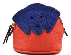 Orange Contrast Dog Purse Choies.com bester Fashion-Online-Shop Großbritannien Europa
