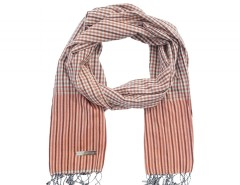 Orange Cotton Scarf Carnet de Mode bester Fashion-Online-Shop
