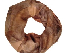 Perla Peach Silk Scarf Carnet de Mode bester Fashion-Online-Shop