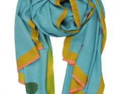 Petal Printed Cashmere Pashmina Carnet de Mode bester Fashion-Online-Shop