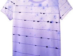 Printed Cotton t-Shirt Orwell Carnet de Mode bester Fashion-Online-Shop