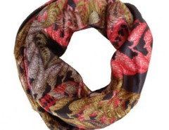 Printed Silk Scarf Fern Carnet de Mode bester Fashion-Online-Shop