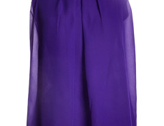 Purple Halter Bow Tie Back Ruched Layered Vest Choies.com bester Fashion-Online-Shop Großbritannien Europa