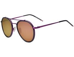 Purple Mirror Lens Aviator Sunglasses Choies.com bester Fashion-Online-Shop Großbritannien Europa