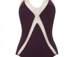 Purple and White Graphic One-Piece - Jenny Carnet de Mode bester Fashion-Online-Shop