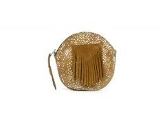 Purse - SATINKA - Cognac & Shagreen Carnet de Mode bester Fashion-Online-Shop