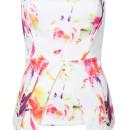 Red Painting Off Shoulder Wrap Asymmetric Blouse Choies.com bester Fashion-Online-Shop Großbritannien Europa
