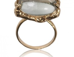 Ring - Yellow Gold - Parrot Claw Carnet de Mode bester Fashion-Online-Shop