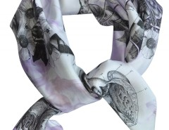 SCARF - BIRTH - PURPLE Carnet de Mode bester Fashion-Online-Shop