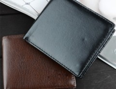 Men's Synthetic Leather Wallet Money Pockets Credit/ID Cards Holder Purse Cndirect bester Fashion-Online-Shop aus China