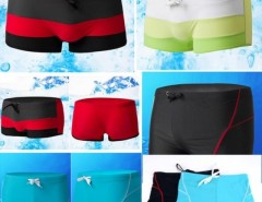 HOT Men swimming Trunks Tether Boxers Beach shorts Swimwear with Pocket Swimsuit Cndirect bester Fashion-Online-Shop aus China
